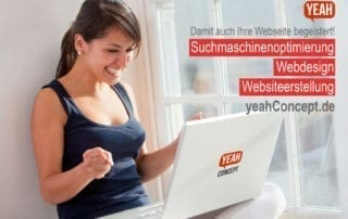 yeahConcept SEO Webdesign Websiteerstellung