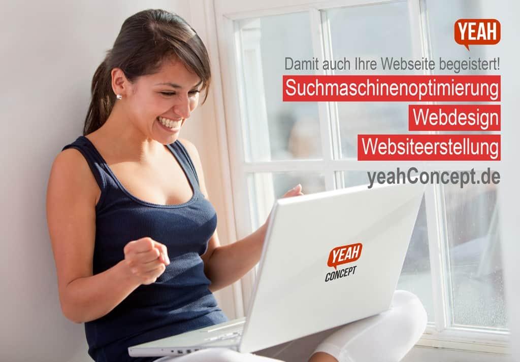 yeahConcept SEO Webdesign Websiteerstellung