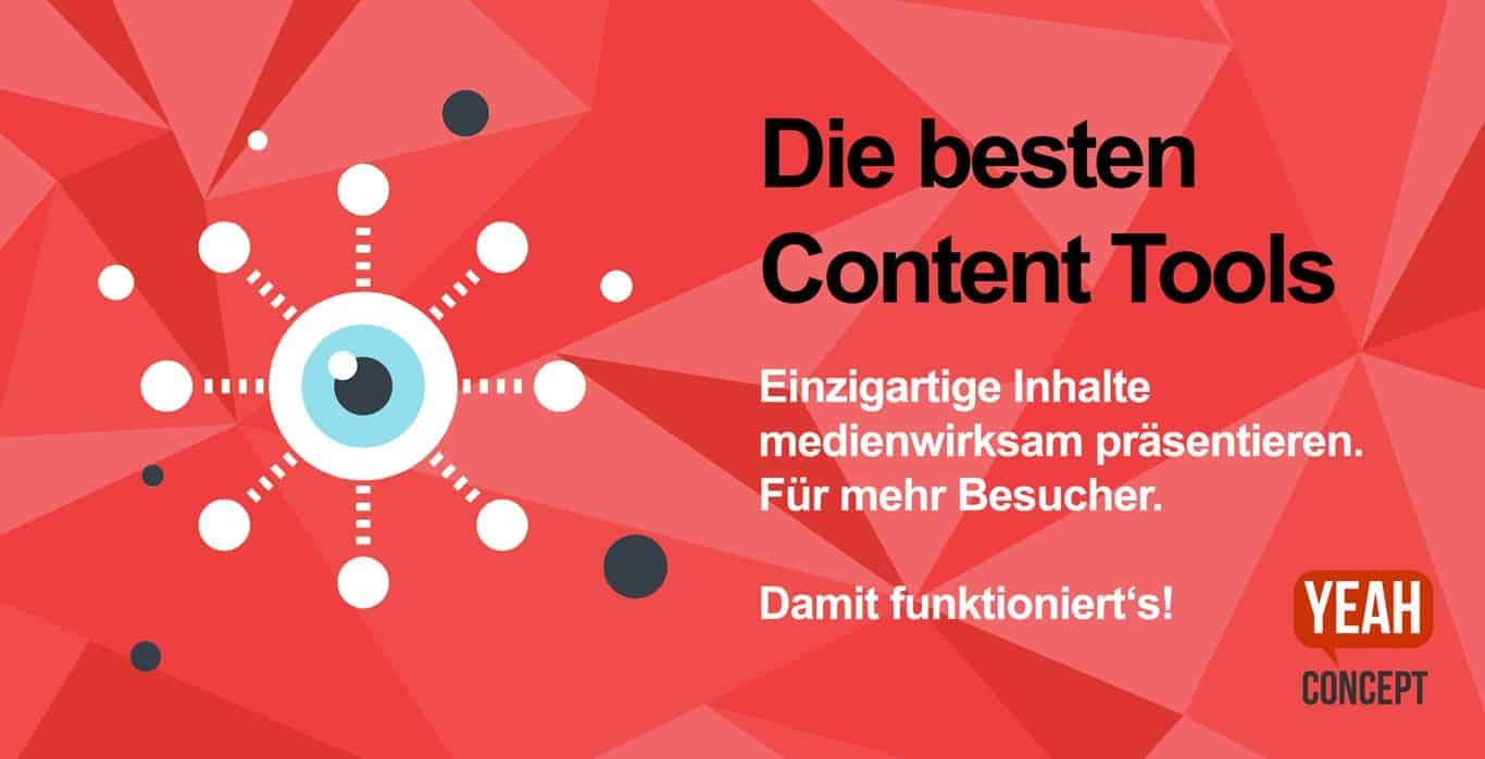 Die besten Content Tools - erfolgreich präsentieren